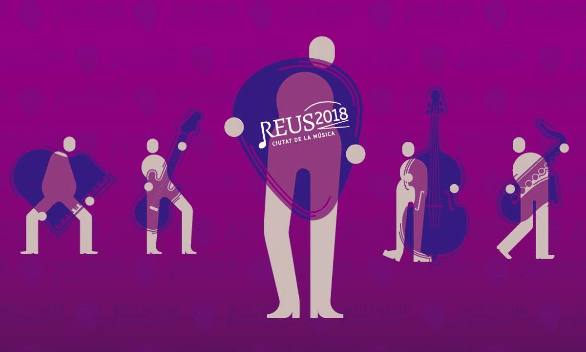 Reus 2018 ciutat de la música