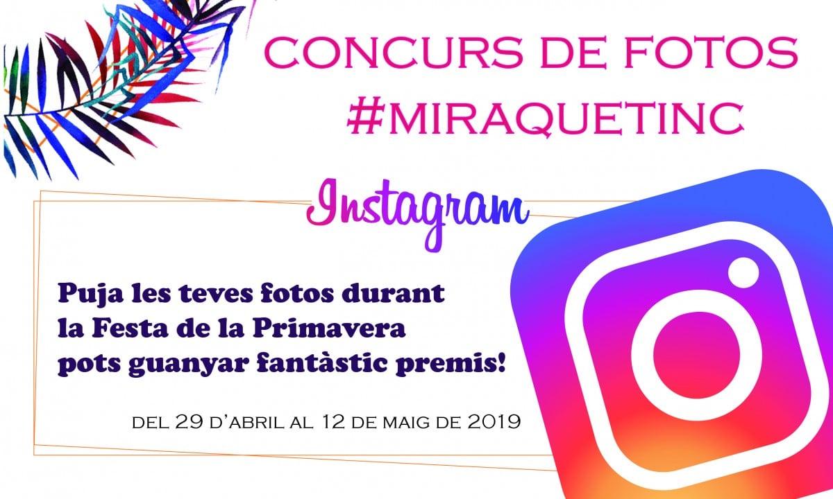 Concurs Fotos Instagram #MiraQueTinc