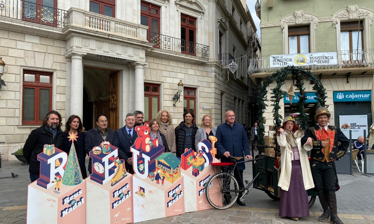 Presentació de la campanya 'Reus és Nadal'