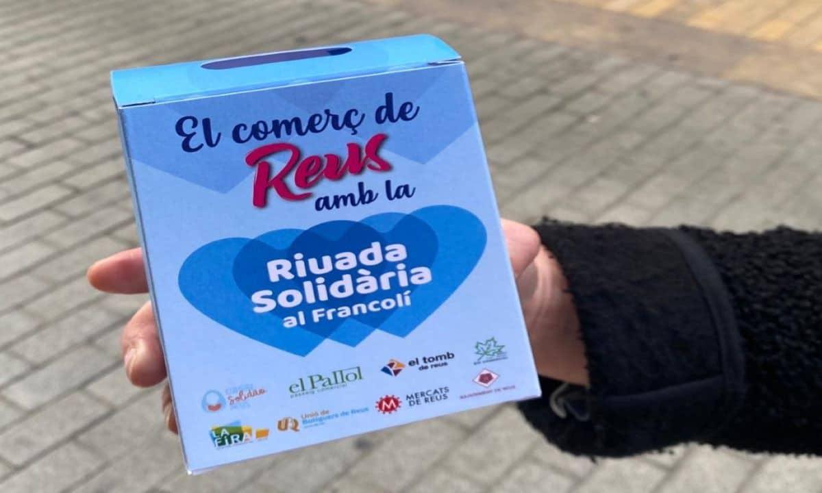 El Comerç de Reus amb la RIUADA SOLIDÀRIA al Francolí